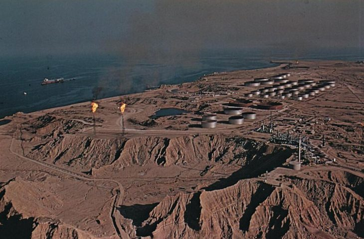 Kharg Island in the Persian Gulf
