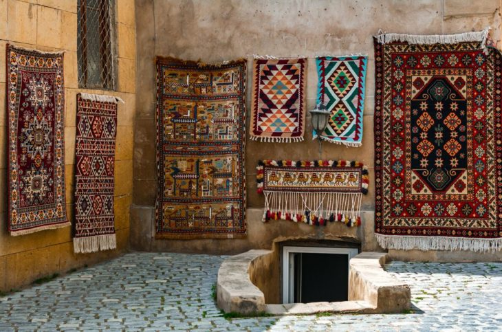 Iran is known for its great carpet art, a millennial tradition