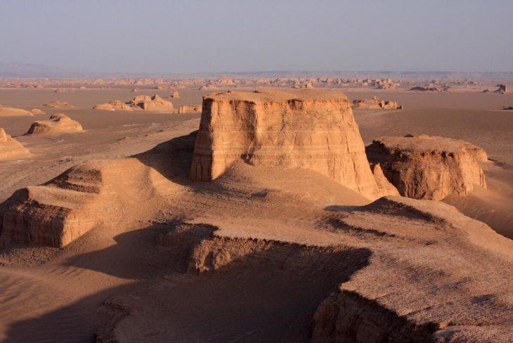 Kaluts Desert in Iran