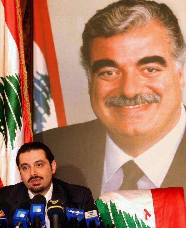 Prime Minister Rafiq al-Hariri