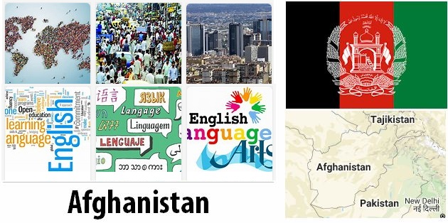 Afghanistan Population and Language
