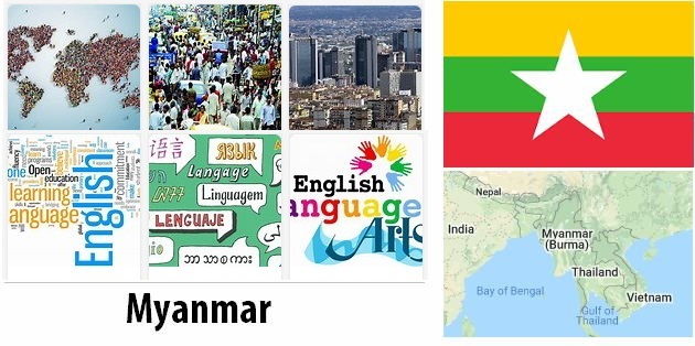 Burma Population and Language
