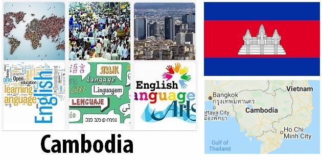 Cambodia Population and Language