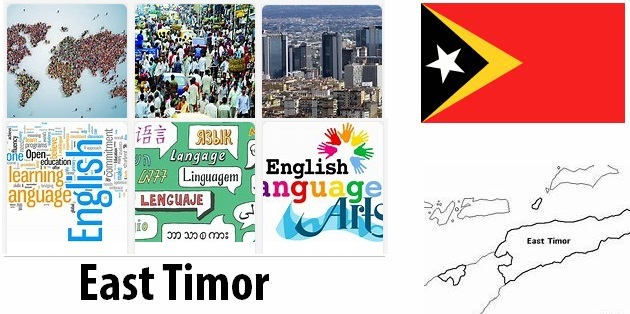 East Timor Population and Language