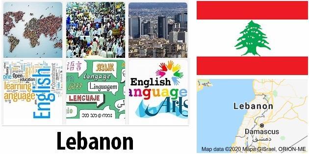 Lebanon Population and Language