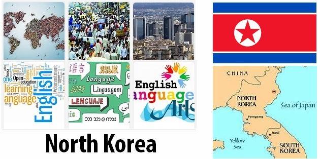 North Korea Population and Language