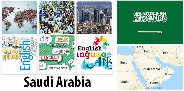 Saudi Arabia Population and Language