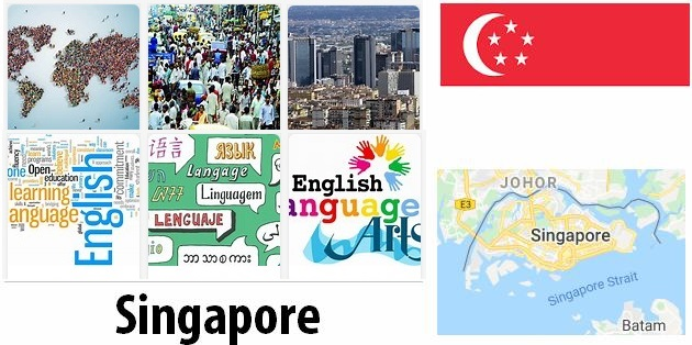 Singapore Population and Language