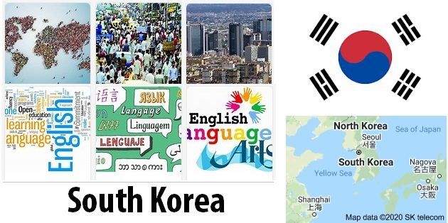 South Korea Population and Language