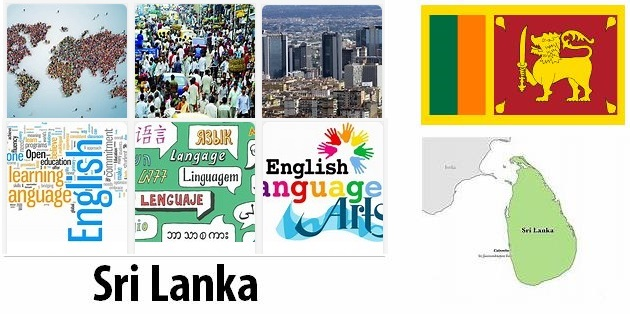 Sri Lanka Population and Language