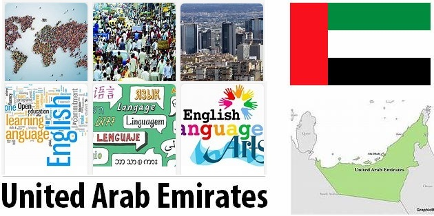 United Arab Emirates Population and Language
