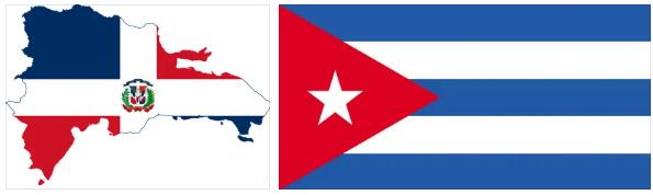 Cuba Flag and Map