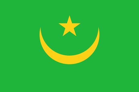 Mauritania Emoji flag