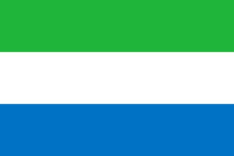 Sierra Leone Emoji Flag