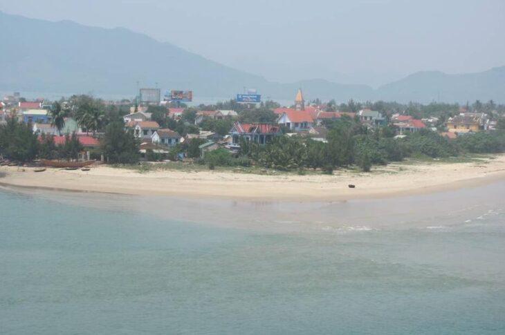 Lang Co peninsula in Central Vietnam